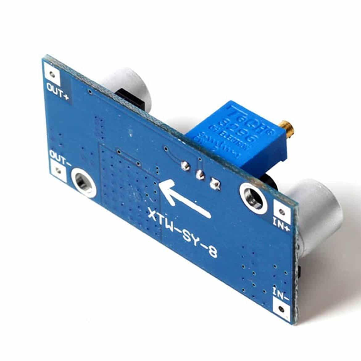 XL6009 DC-DC Step-up Module with Adjustable Booster Power Supply Module